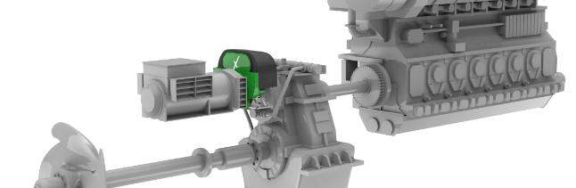 Shaft Generator veya Saft Jeneratoru