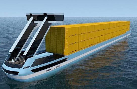 Dünyanın elektrikle çalışan gemi ünvanına sahip kargo gemisi Çin'de Üretildi