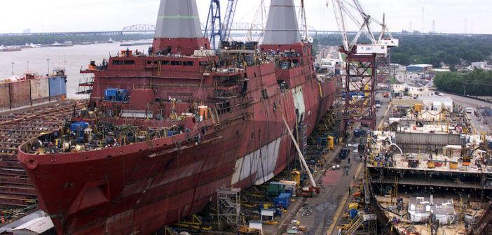 Gemi İnşaatı Mühendisi Çalışma Ortamı
