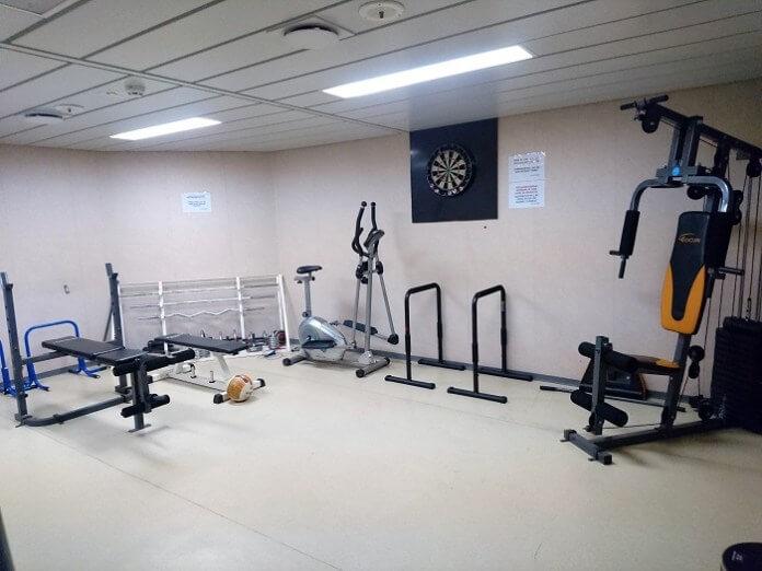 Gemide Spor Salonu var mı?