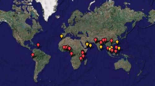 Gemi Korsanlığı yapılan bölgeler nerelerdir?