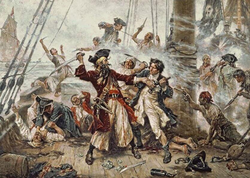 Tarihteki ilk gemi korsanlığı