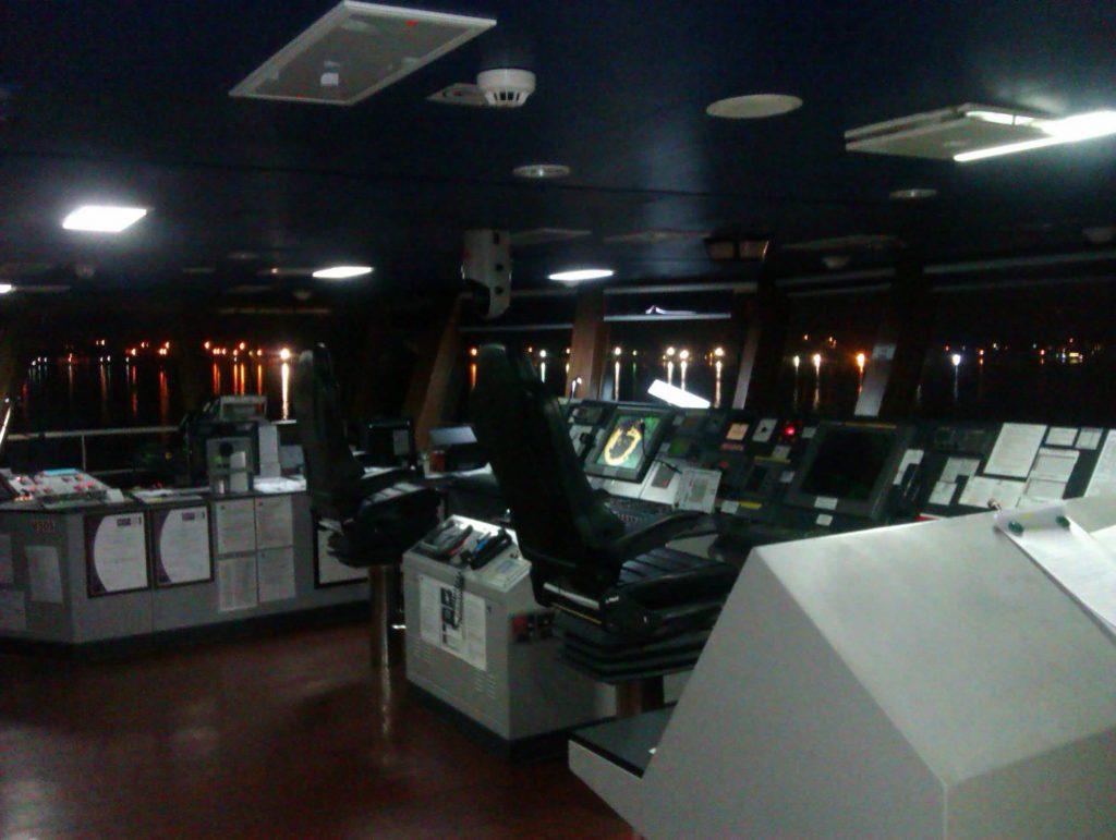 Gemi Köprü üstü Fotoğrafları
