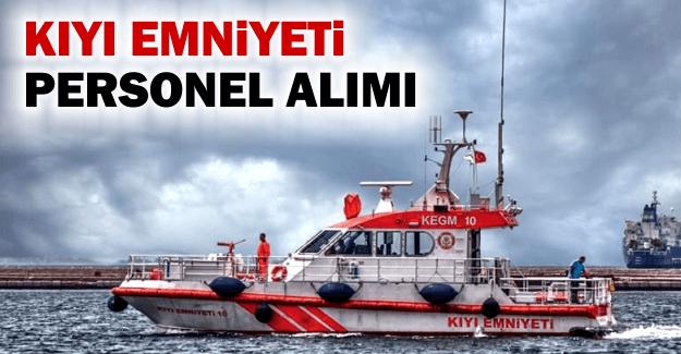 Kıyı Emniyeti Personel İlanı 2019