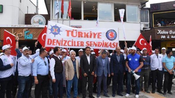 Türkiye Denizciler Sendikası İzdeniz Grevi