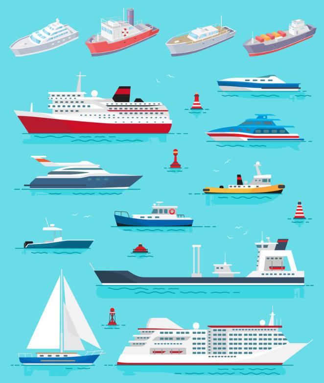 Gemi Tipleri ve Çeşitleri Nelerdir?