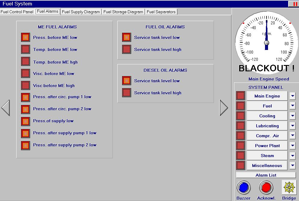 Ücretsiz simülatör Alarmları