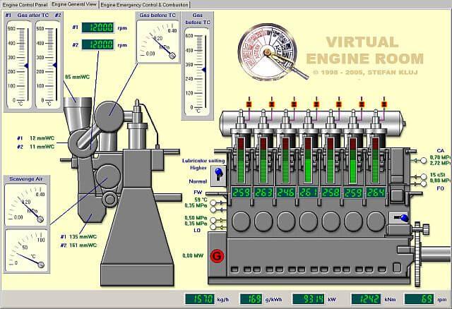 Ücretsiz Virtual Engine Room İndir
