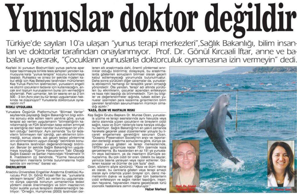Yunus Balığı ile Tedavi Güvenilir mi?