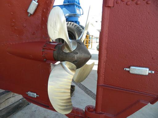 Gemide Topraklama Çinko Tutya