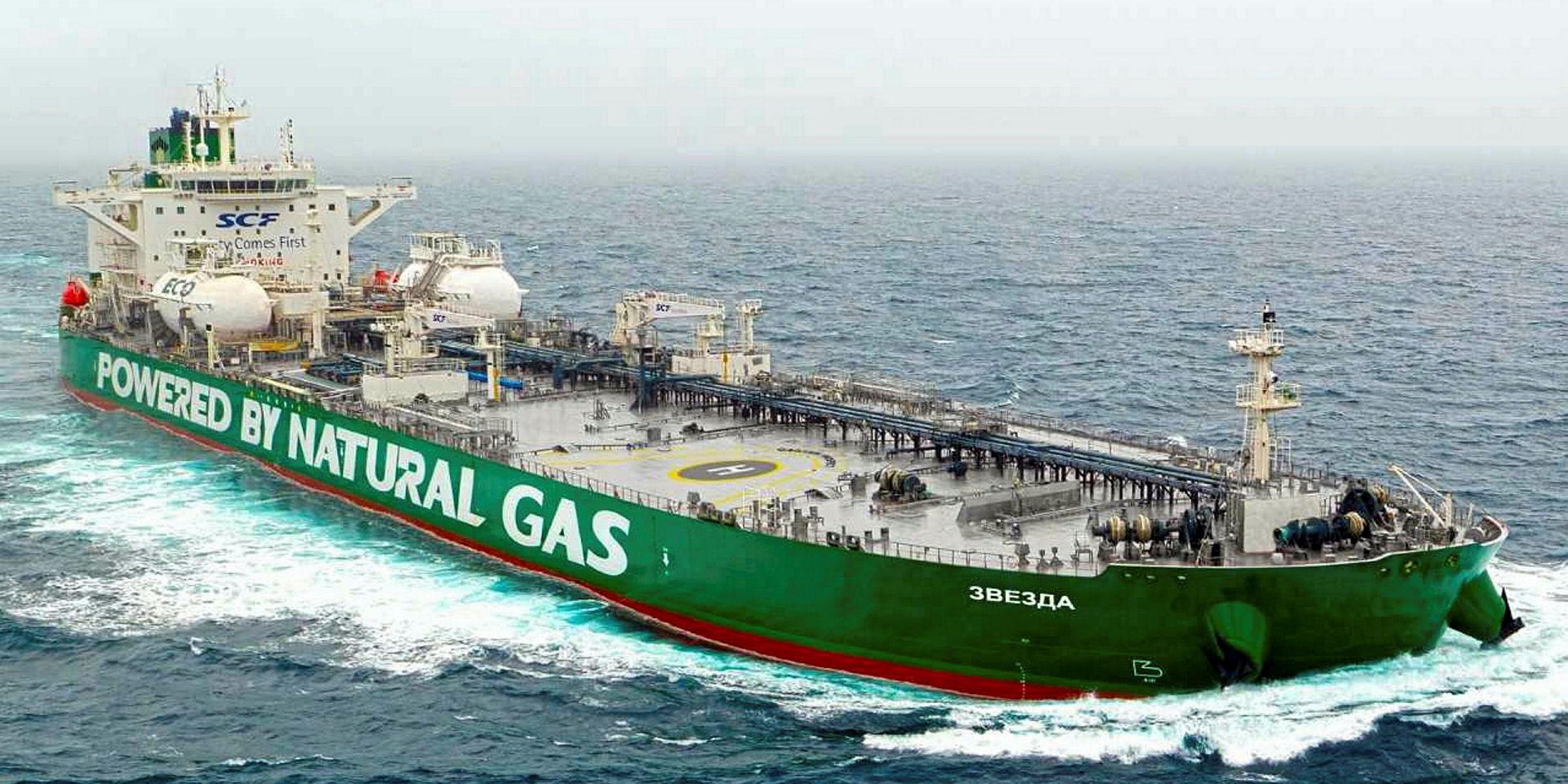 LNG Yakıtı İle Çalışan Gemiler
