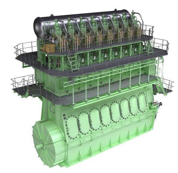 Büyük Dizel Motor